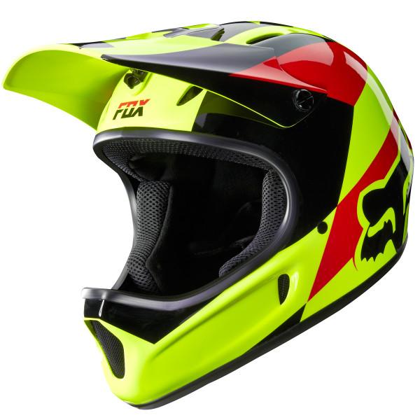 Rampage Fullface Helm Mako Yellow