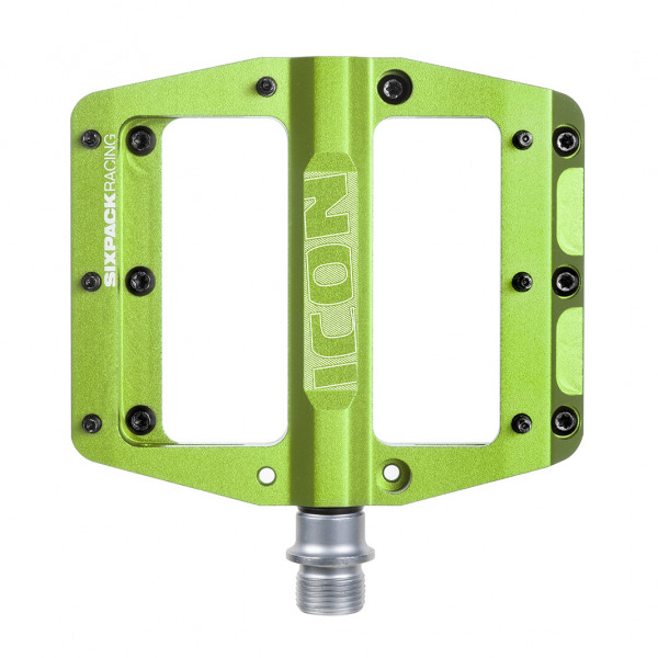 Icon Pedal - electric green